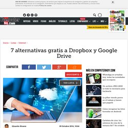 7 alternativas gratis a Dropbox y Google Drive