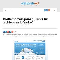 """10 alternativas para guardar tus archivos en la """"nube"""""""