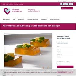 Alternativas a la nutrición para las personas con disfagia