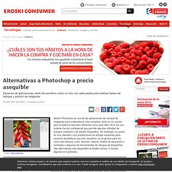 Alternativas a Photoshop a precio asequible