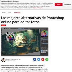 Las mejores alternativas de Photoshop online para editar fotos