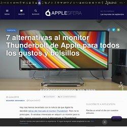 7 alternativas al monitor Thunderbolt de Apple para todos los gustos y bolsillos