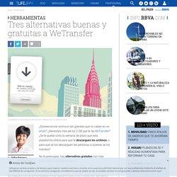 Tres alternativas a WeTransfer para enviar archivos