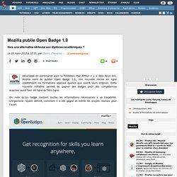 Mozilla publie Open Badge 1.0, vers une alternative sérieuse aux diplômes académiques ?
