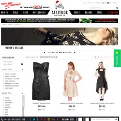 Women's Alternative Dresses from Attitude Clothing