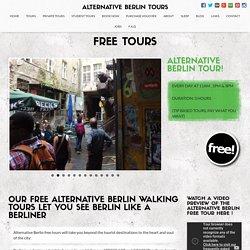 Alternative Berlin Free Tours - Alternative Berlin Tours