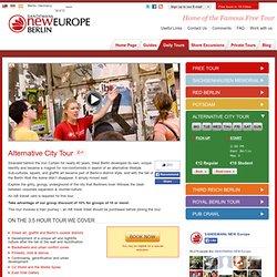 Alternative City Tour - Berlin Tours - SANDEMANs NEW EUROPE