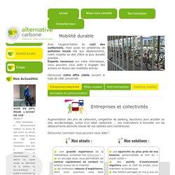Mobilité durable - Alternative CarboneAlternative Carbone