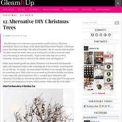 12 Alternative DIY Christmas Trees