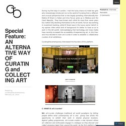 Special Feature: AN ALTERNATIVE WAY OF CURATING and COLLECTING ART