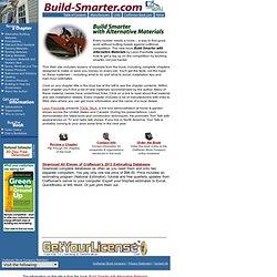 Onine Book On Green Building & Remodeling Information