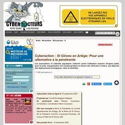 St Girons en Ariège: Pour une alternative à la pénétrante cyberaction