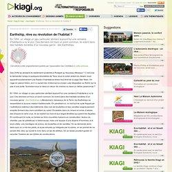alternative développement durable Earthship, rêve ou révolution de l'habitat ?