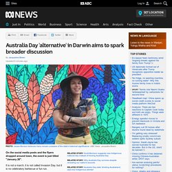 Australia Day 'alternative' in Darwin aims to spark broader discussion