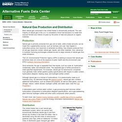 Alternative Fuels and Advanced Vehicles Data Center: Natural Gas Distribution