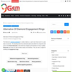 Some Alternative Of diamond Engagement Rings Which Are Affordable