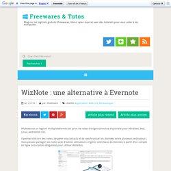 une alternative à Evernote