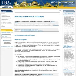 alternative.hec.fr : HomePage