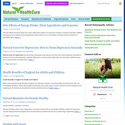 Natural Health Cures-Natural health Remedies,alternative therapies articles and information