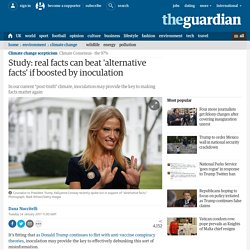 Study: real facts can beat 'alternative facts' if boosted by inoculation