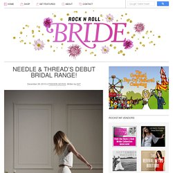 Rock n Roll Bride ? Your Big Day the Rock n Roll Way