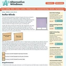 Making roller blinds instructions