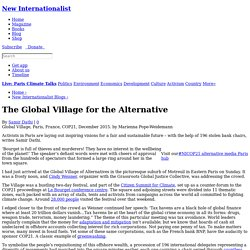 The Global Village for the Alternative