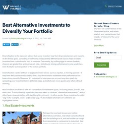 Best Alternative Investments to Diversify Your Portfolio
