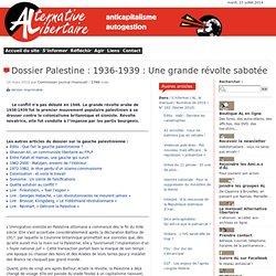 1936-1939 la grande révolte sabotée