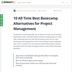 10 Basecamp Alternative For Project Management You Must Try- Sprout24