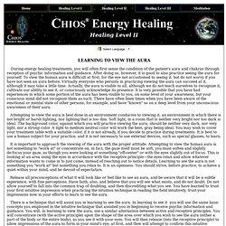 Chios Energy Healing ( Aura and Chakra Healing ) - Alternative Medicine / Holistic Health