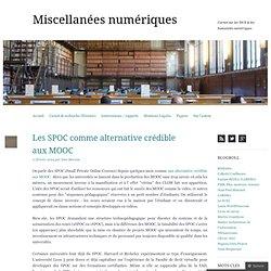 Les SPOC comme alternative crédible aux MOOC