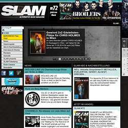 SLAM alternative music magazine - das Musikmagazin im Web