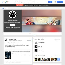 Alternative News - Google+