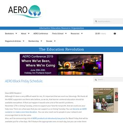 Alternative Education Resource Organization | AERO | Learner-Centered Education