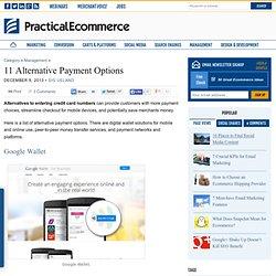 11 Alternative Payment Options