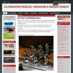 ALTERNATIVE WORLDS - WARGAME & REENACTEMENT