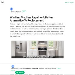 Washing Machine Repair — A Better Alternative To Replacement!