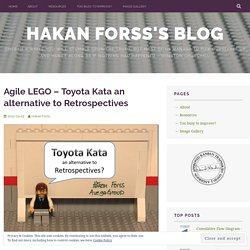 Agile LEGO – Toyota Kata an alternative to Retrospectives