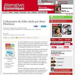 L'alternative du XXIe siècle par Marc Fleurbaey
