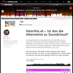 Hearthis.at - Ist das die Alternative zu Soundcloud?