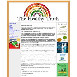 The Healthy Truth - Healthy pizza dough, pizza dough, alternative medicine, supplements