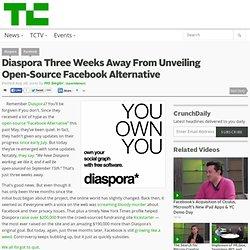 Diaspora Three Weeks Away From Unveiling Open-Source Facebook Alternative