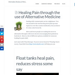 Alternative Therapies for Healing Shoulder Pain