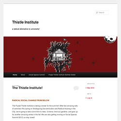 Purple Thistle Institute