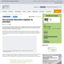 Inde : Une alternative végétale au plastique?