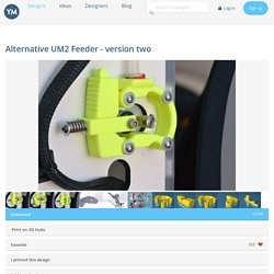 □Alternative UM2 Feeder - version two – YouMagine.com