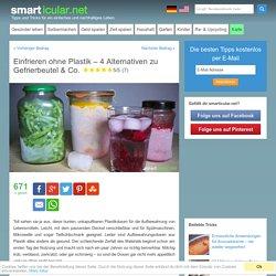 Einfrieren ohne Plastik - 4 Alternativen zu Gefrierbeutel & Co.