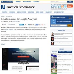 14 Alternatives to Google Analytics