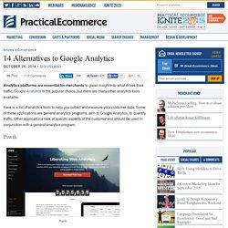 14 Alternatives to Google Analytics